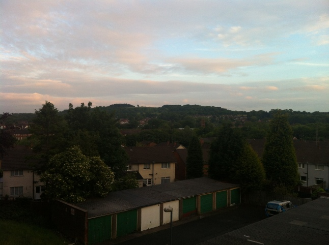 You can see Beacon Hill, which is part of the Lickey Hills Country Park, from the balcony etc...