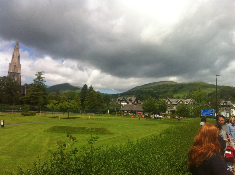 A part of Ambleside's recreational ground.