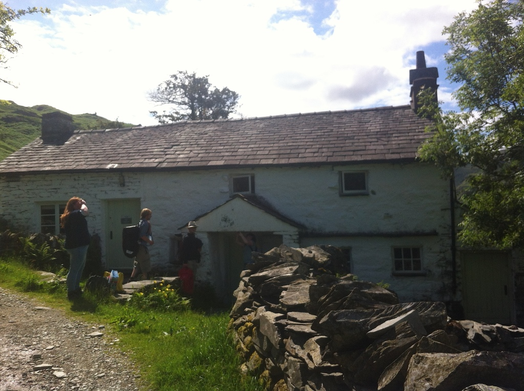 Our cottage! High Hallgarth! <3