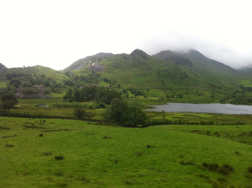 Taken more or less on the other side of Little Langdale Tarn.
