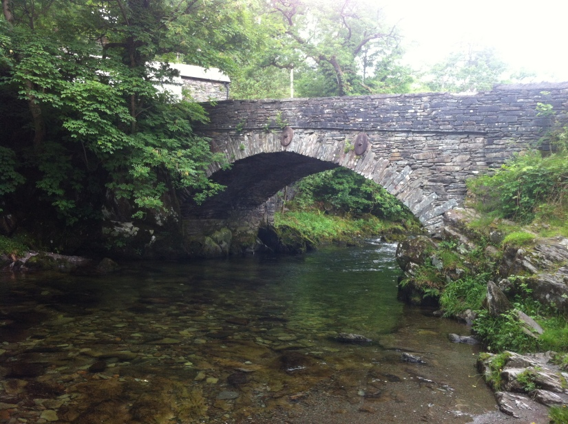 Quite a nice bridge... I'm going to go under it! :)