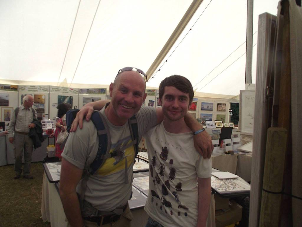 Birdfair 2015 - Mike Dilger and Me