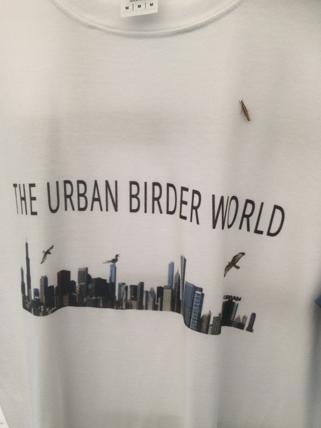 Moth on The Urban Birder Tshirt