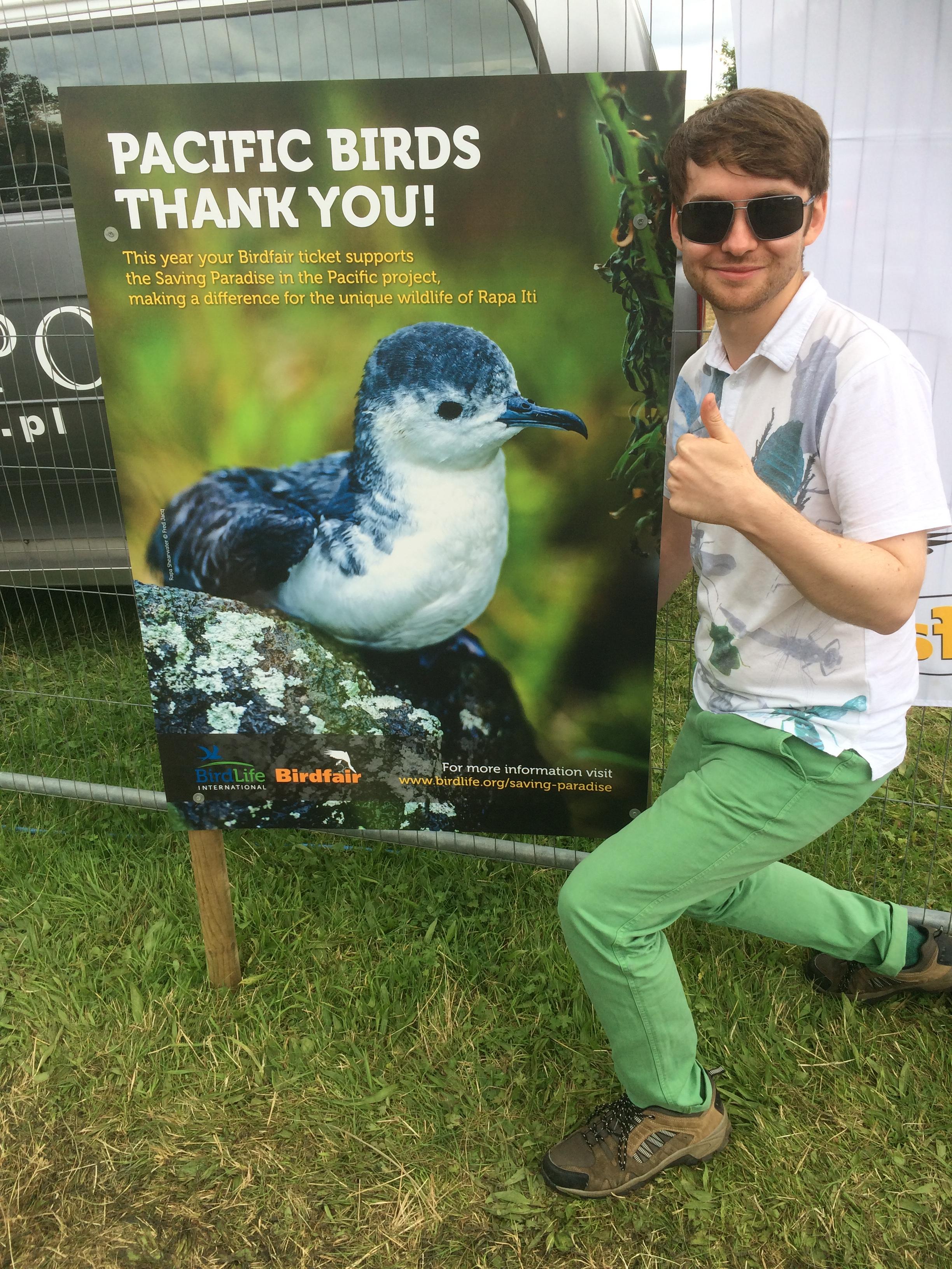 Pacific Birds Thank You